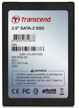 TRANSCEND SSD 630, 64GB, SATA II 3Gb/s, MLC (Standard)