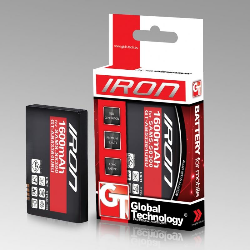 GT Iron baterie pro Samsung S6500 Galaxy Mini 2 1400mAh