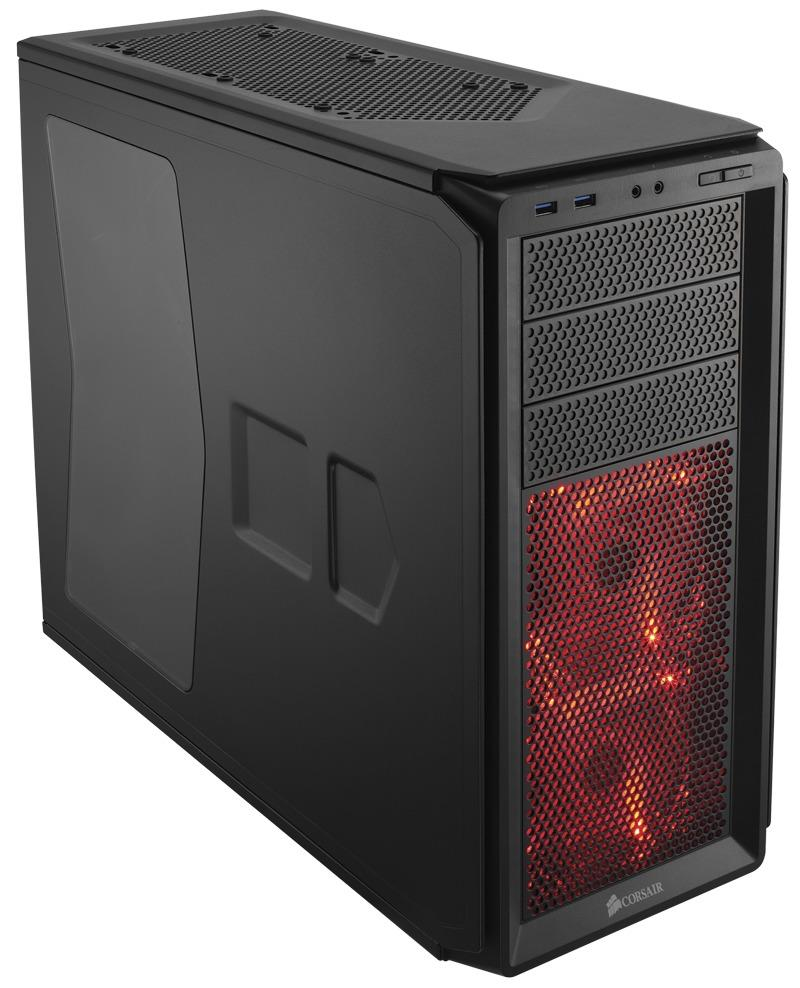 Corsair PC skříň Graphite Series™ 230T Compact Mid Tower Case Black Win,LED fans
