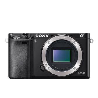 SONY ILCE-6000 Fotoaparát Alfa 6000 s bajonetem E - tělo - Black