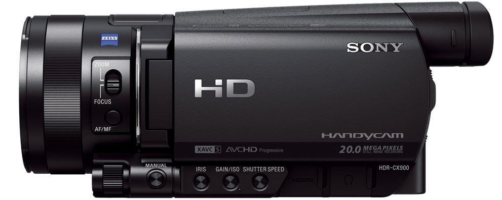 SONY HDR-CX900E – Videokamera Handycam® s velkým snímacím čipem