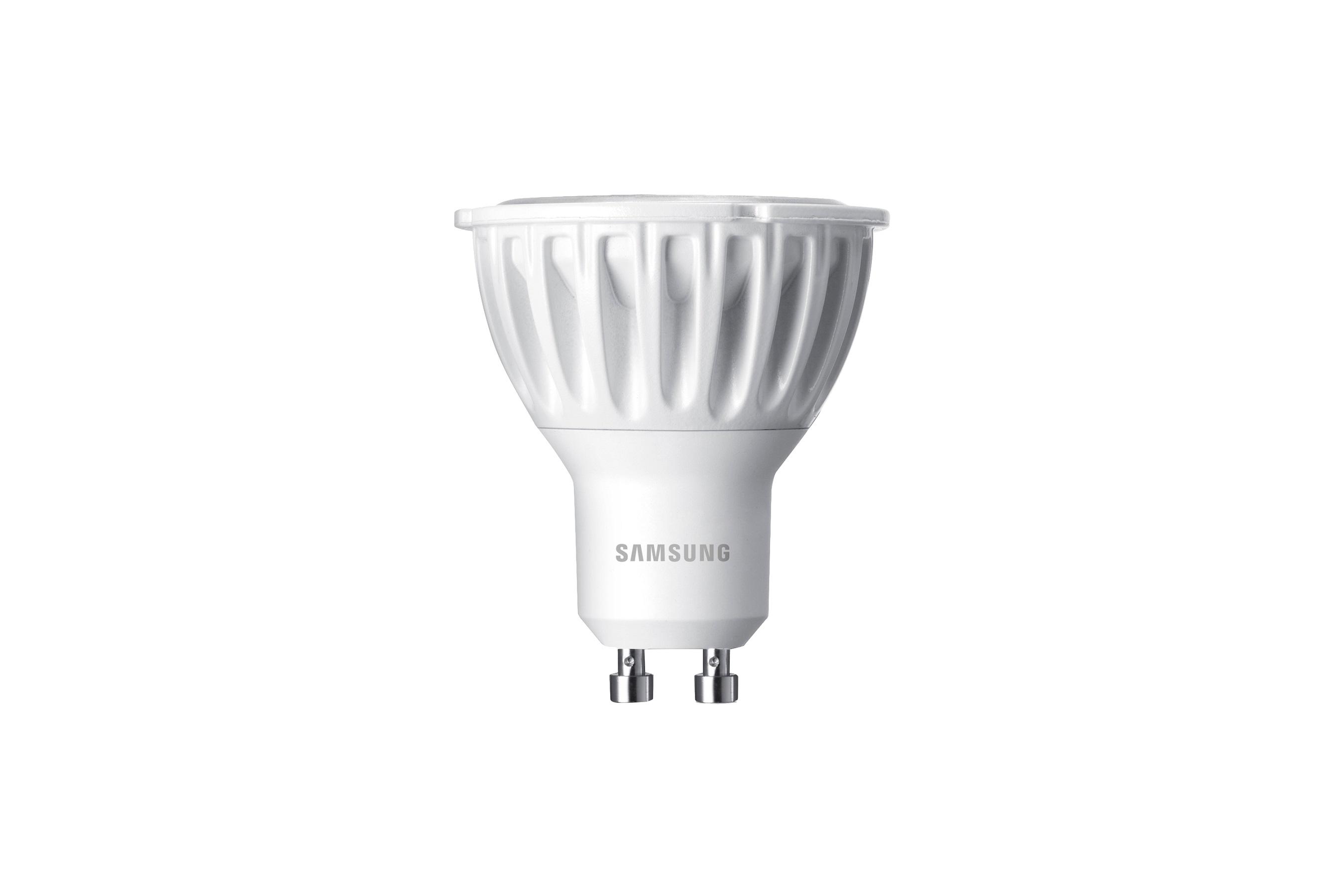 Samsung LED GU10 3,3W 230V 220lm 25st., Teplá bílá