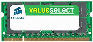 Corsair 2GB 800MHz DDR2, CL5 SODIMM (pro NTB)