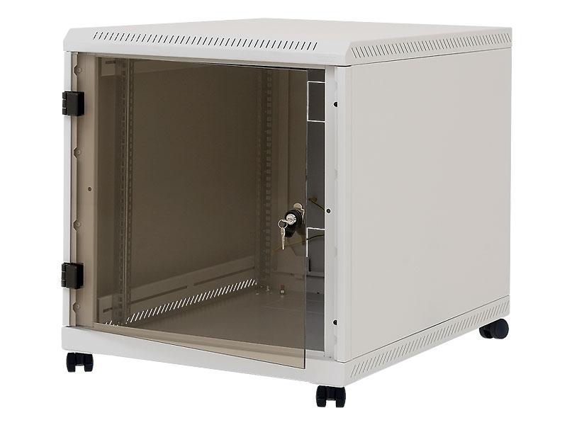 """19"""" kontejner.rack 12U, hl.900mm,nosn.200kg šedý"""