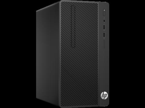 HP PC 290 G1 MT i3-7100 4GB 128GB SSD intelHD DVDRW W10P