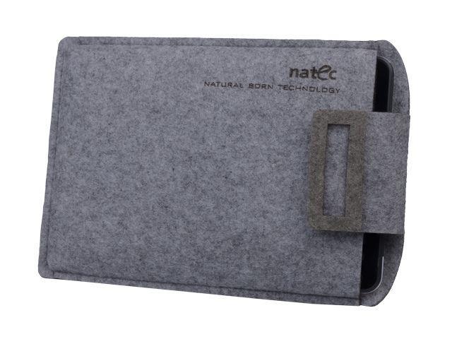 Natec SHEEP pouzdro pro tablet 10'', kávově-šedé