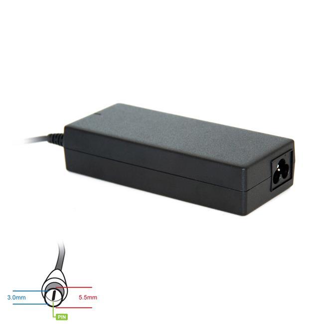Digitalbox napájecí adaptér pro Samsung 19V/4.74A 90W, (5.5x3.0 + pin)