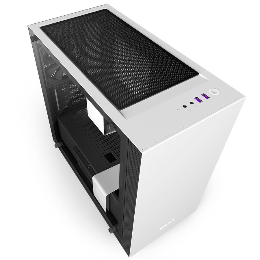 NZXT PC skříň H400i matná bílá