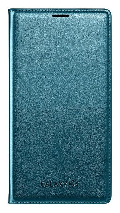 Samsung flip. pouzdro s kapsou pro S5, zelená