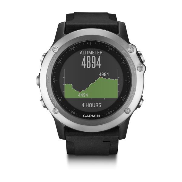 Garmin GPS sportovní hodinky Fenix3 Silver Optic