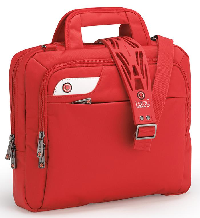I-stay Launch Tablet/Netbook/Ultrabook Bag 13.3'' red