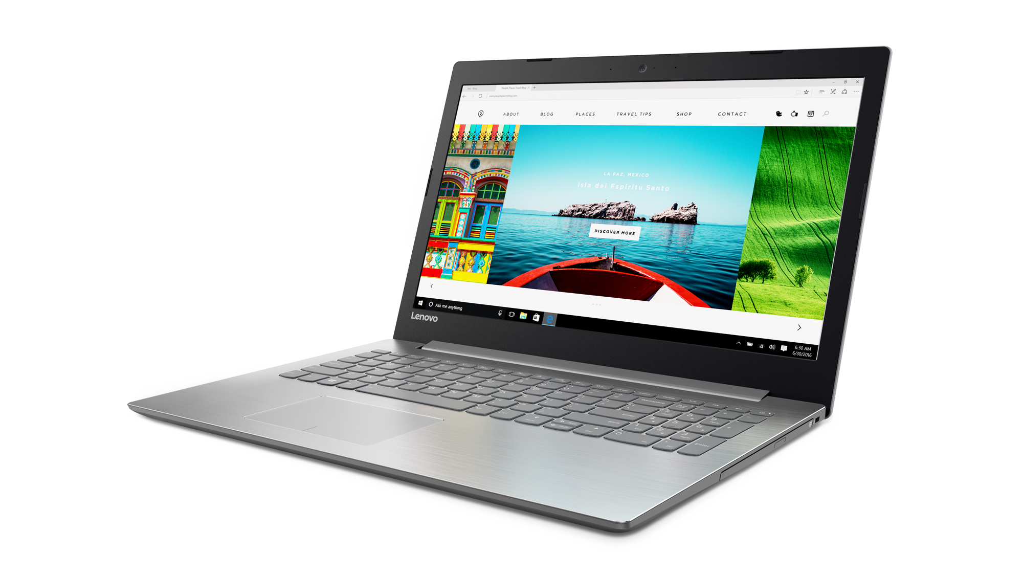 "Lenovo IdeaPad 320-15ISK i3-6006U 2,00GHz/6GB/SSD 256GB/15,6"" FHD/AG/WIN10 šedá 80XH003RCK"