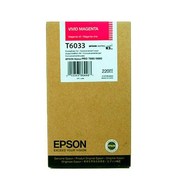 Epson T603 Light magenta 220 ml