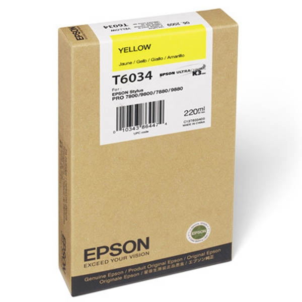 Epson T603 Yellow 220 ml