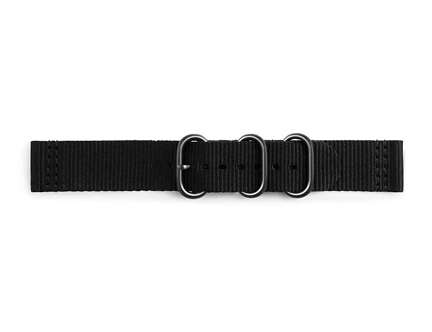 Samsung Silikonový řemínek Braloba pro Gear Sport Black