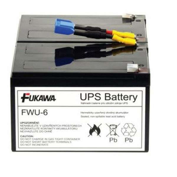 FUKAWA FWU-6 náhradní baterie za RBC6