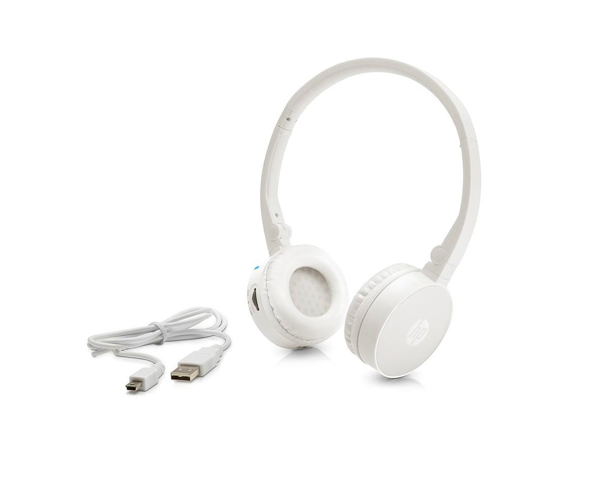 HP Náhlavní souprava Stereo Headset H7000 bílá