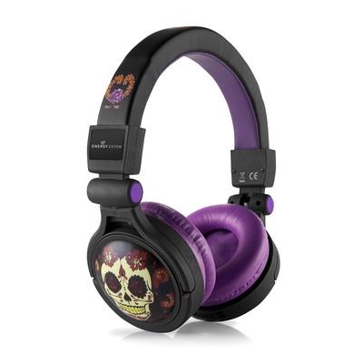 ENERGY MP3 Headphones h3 Catrina, circumaurální sluchátka s vestavěným mp3 přehrávačem, microSD/SDHC