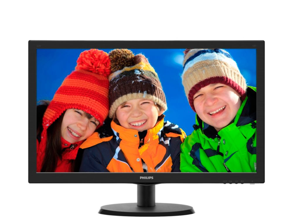 "Philips LCD 223V5LSB2 21,5""wide/1920x1080/5ms/10mil:1/VGA/LED"