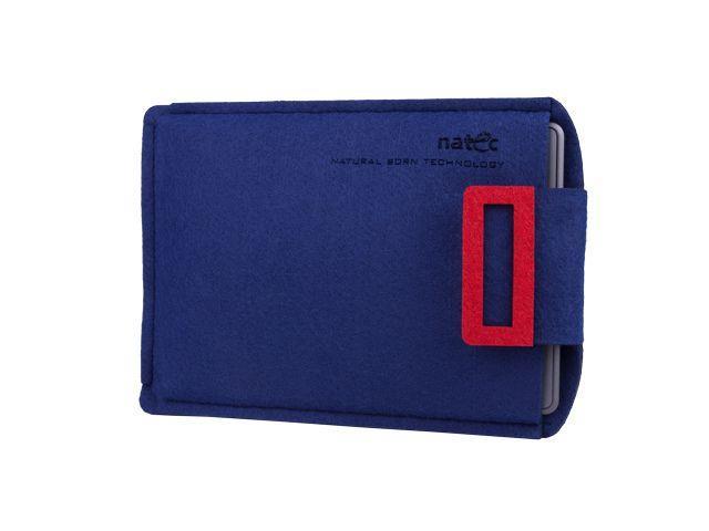 Natec SHEEP pouzdro pro Kindle 6'', modro-červené