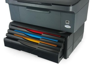 A4R Organizer/Stand for printers, MFP's and monitors (black, 4 drawers)