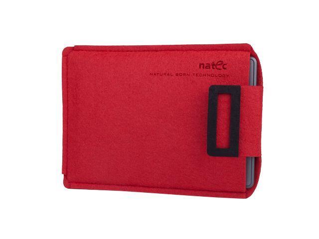 Natec SHEEP pouzdro pro Kindle 6'', červeno-černé