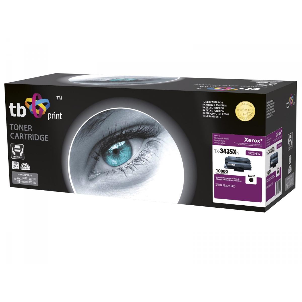 Toner TB kompatibilní s Xerox106R01415 100% new,Bk