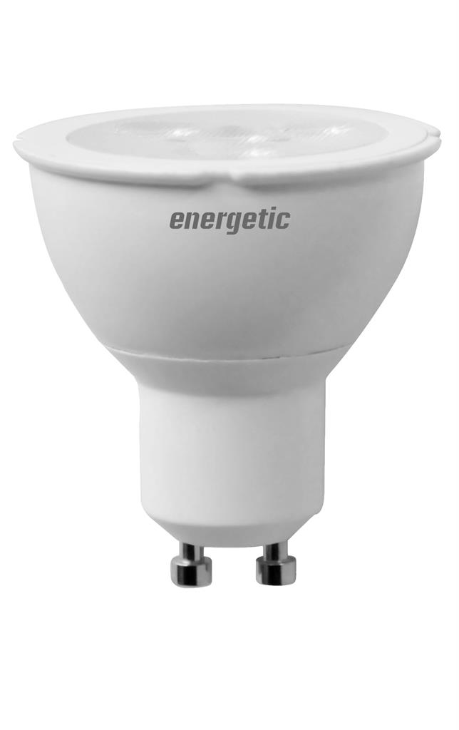 Světelný zdroj LED Energetic Lighting GU10 4W->35W 2700K 600Cd reflektor GU10