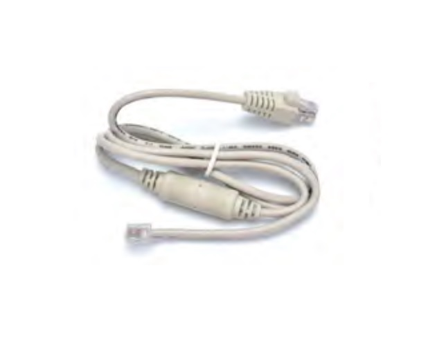 Kabel béžový 12V pro pokladní zásuvky DOXY - RJ12/RJ12 délka 1,5m