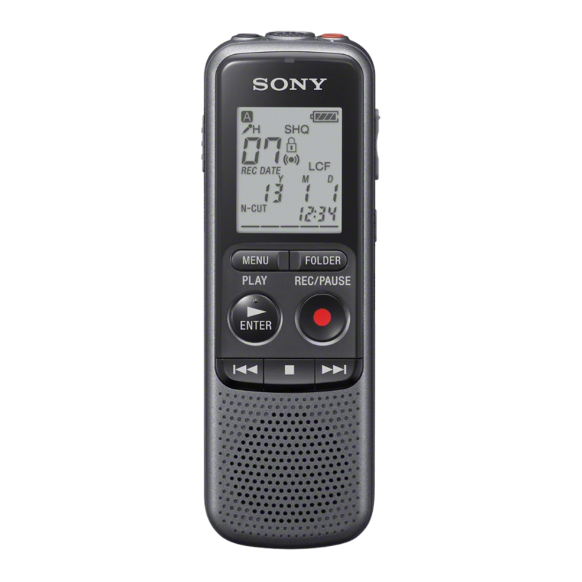 Sony dig. diktafon ICD-PX240,černý,4GB,PC