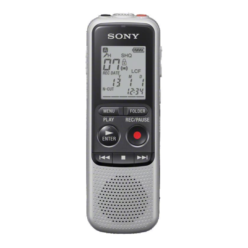 SONY digitální záznamník ICD-BX140 - 4 GB, výkon reproduktoru 300 mW