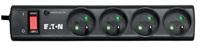 Eaton Protection Strip 4 FR, přepěťová ochrana, 4 zásuvky, 1m