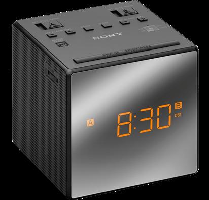 Sony radiobudík ICF-C1T, Duální alarm, černý