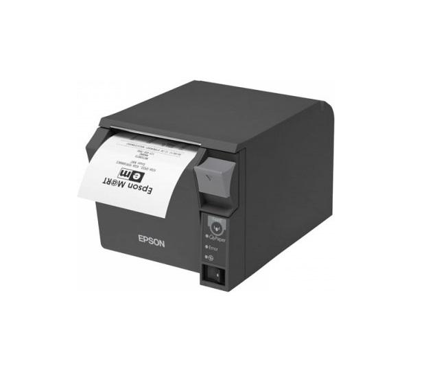 EPSON TM-T70II - černá/USB+Serial/zdroj