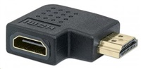 MANHATTAN HDMI Adapter, A Female to A Male, left 90° Angle