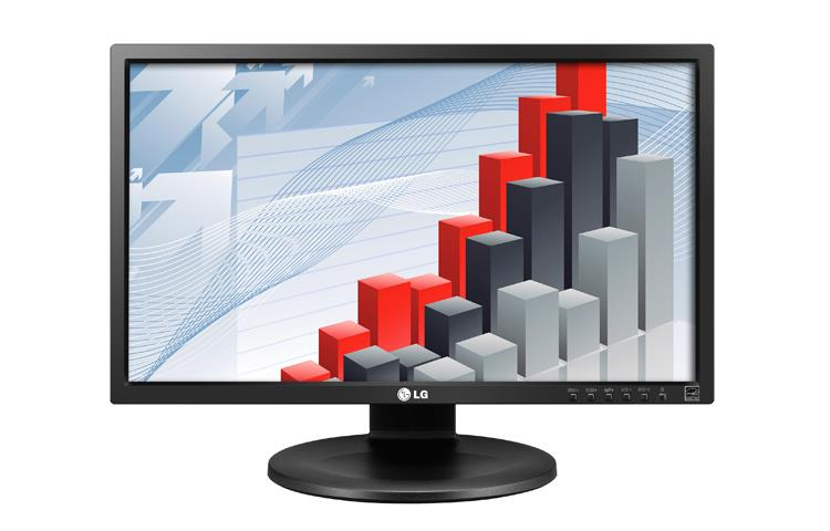 LG LCD 23MB35PM-B 23'' LED, IPS,5ms ,DVI,repro, pivot, HAS,1920x1080