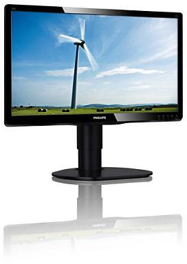 "19,5"" LED Philips 200S4LMB-1600x900,DVI,rep,piv"