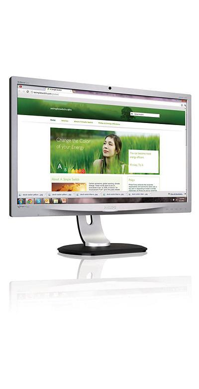 "24"" LED Philips 241P4QRYES-FHD,MVA,DP,USB,rep,p,si"