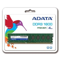 ADATA 4GB 1600MHz DDR3 CL11 Retail