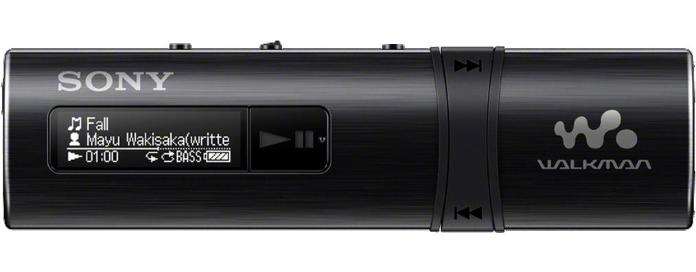 SONY NWZ-B183F – Přehrávač WALKMAN® s portem USB, FM radio, 4GB BLACK