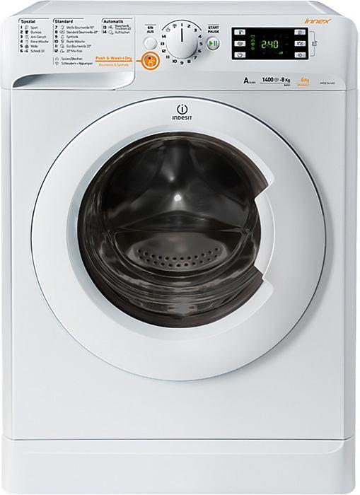 Pračka se sušičkou Indesit XWDE 861480X W DE
