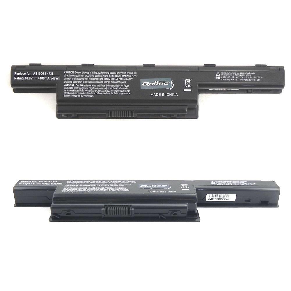 Qoltec Long Life baterie pro notebooky Acer Aspire AS10D31 11.1V | 4400mAh