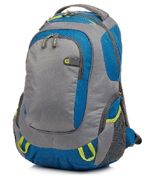 "HP Outdoor Sport grey/blue Backpack - 15,6"" - BAG"