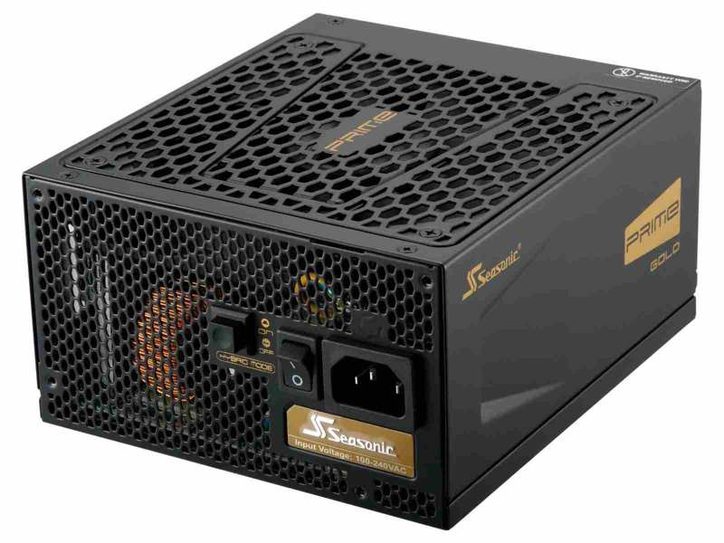 SEASONIC zdroj 550W Prime ULTRA 550 (SSR-550GD2), 80+ GOLD
