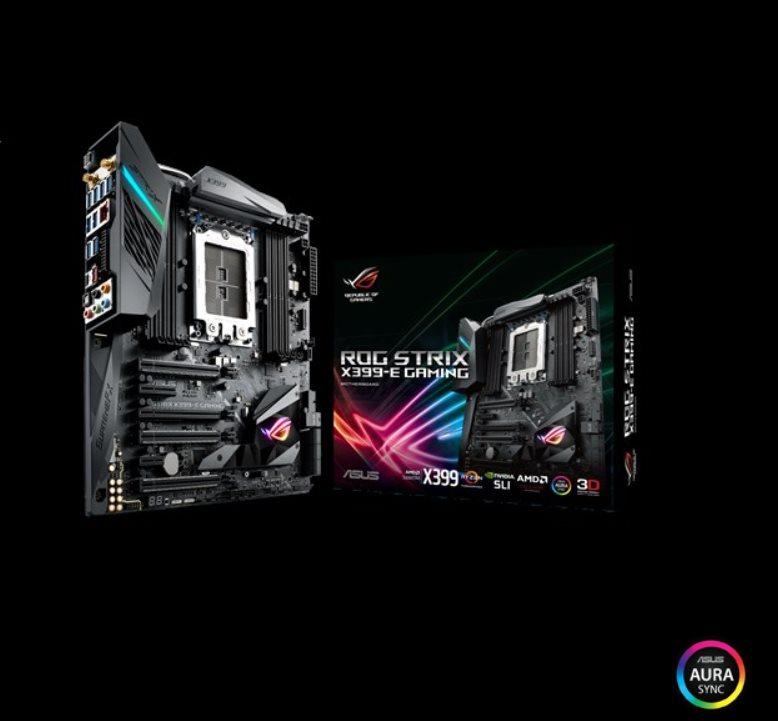 ASUS ROG STRIX X399-E GAMING soc.TR4 X399 DDR4 ATX 4xPCIe USB3 GL WL BT