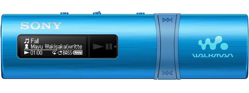 SONY NWZ-B183 – Přehrávač WALKMAN® s portem USB, 4GB BLUE