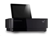 Star základna mPOP pro tablet , tiskárna 58mm, zásuvka, černá