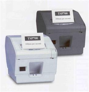 STAR TSP743U II - usb/řezačka/černá + Síťový zdroj Star Micronics PS60A-24B