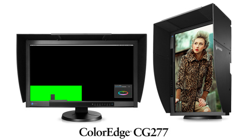 "EIZO 27"" CG277-BK, IPS, 2560 x 1440, 300 cd/m2, 16:9, 1000 : 1, 6 ms, DisplayPort, DVI-I, HDMI,AdobeRGB: 99 % černý"