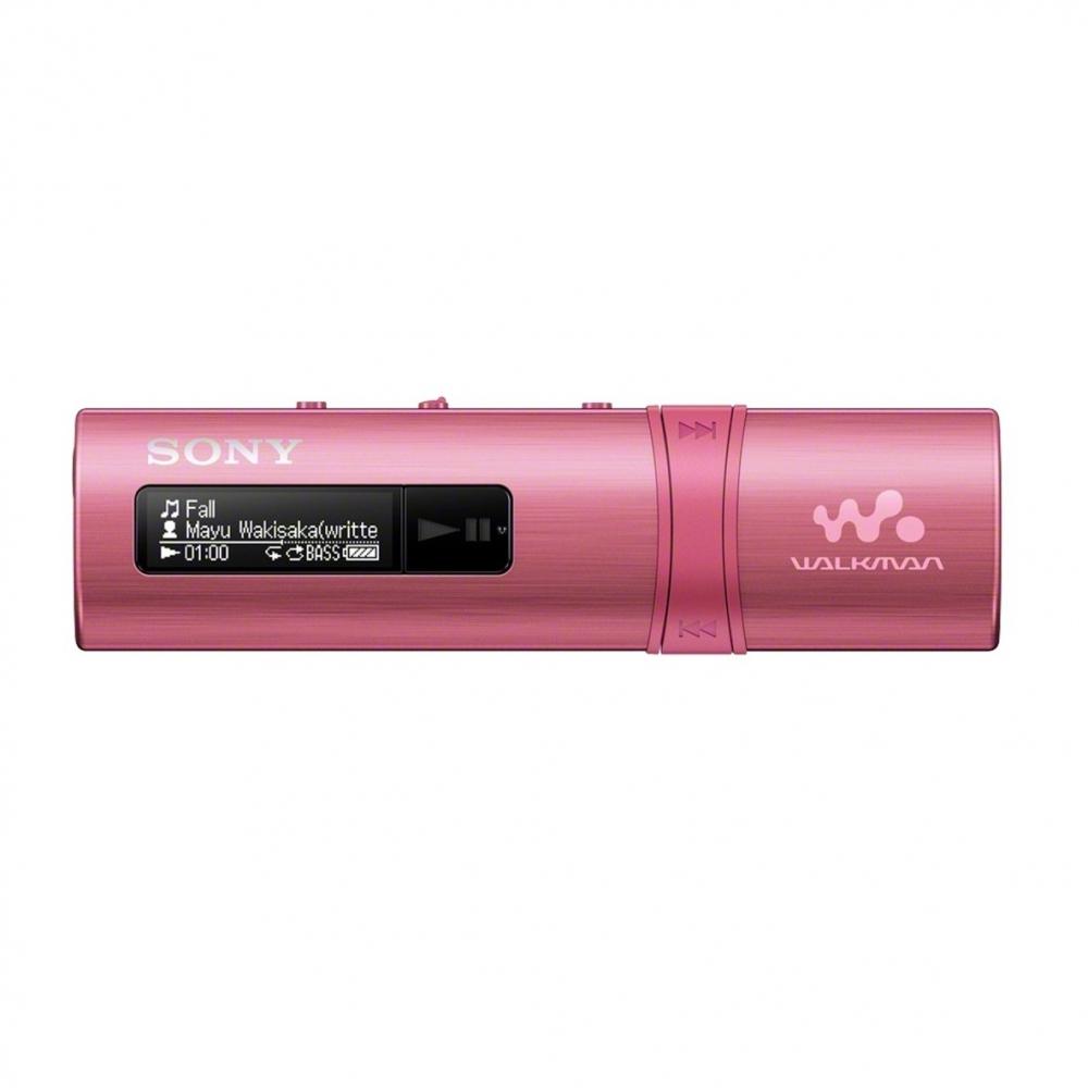SONY NWZ-B183F – Přehrávač WALKMAN® s portem USB, FM radio, 4GB PINK